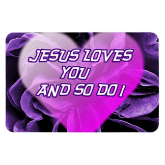 Jesus-Lieben tun Sie u. so I_Premium Flexi Magnet