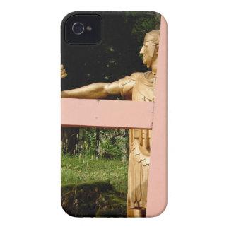 Jesus mit Kreuz Case-Mate iPhone 4 Hüllen