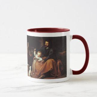 Jesus mit Spatzen - Murillo,… das Wort war… Tasse