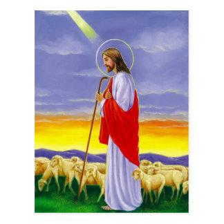 Jesus, religiöse Ostern-Karte Postkarte