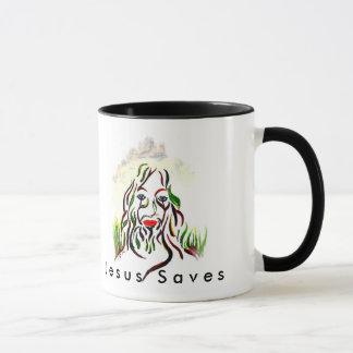 Jesus rettet Kaffee-Tasse Tasse