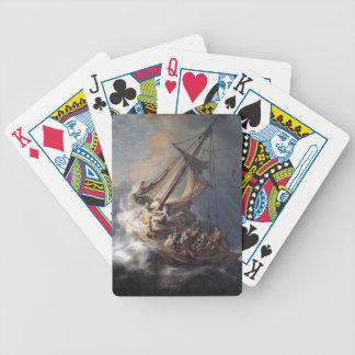 Jesus-Schüler-Meer der Galiläa-Sturm-Spielkarten Bicycle Spielkarten