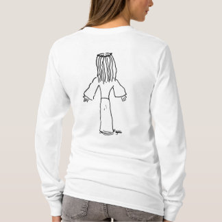 Jesus-Spitze durch Mike Gonzo Cartoons T-Shirt