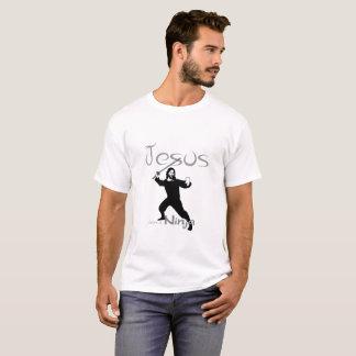 Jesus war ein Ninja T-Shirt 4