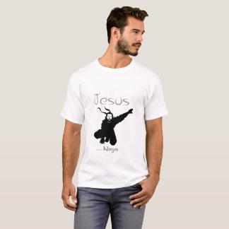Jesus war ein Ninja T-Shirt 5