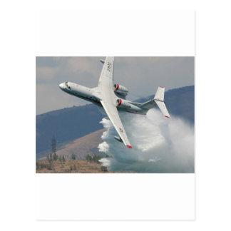 Jet-Feuerwehrmann! Postkarte