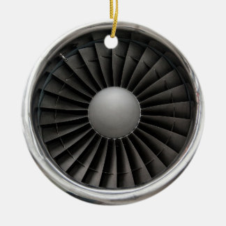 Jet-Motor-Turbine-Fan Keramik Ornament