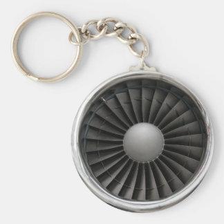 Jet-Motor-Turbine-Fan Schlüsselanhänger