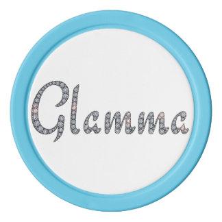 Jeton de poker de Glamma Bling