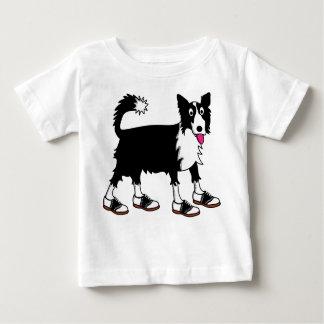 Jett die Border-Collie Baby T-shirt