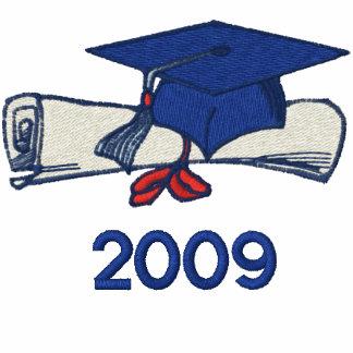 Jetzt welcher Absolvent 2009 Besticktes Hoodie