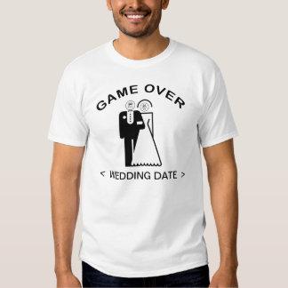 Jeu au-dessus de T-shirt (de date de mariage)