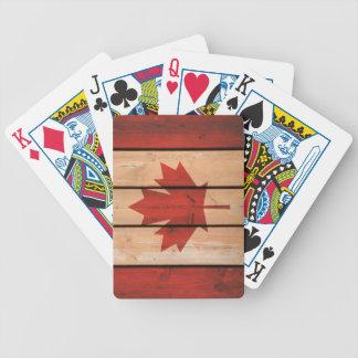 Jeu De Cartes Cartes de jeu de feuille du Canada/érable