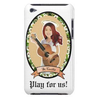 Jeu de St Cecilia pour nous patron de cas d'itouch Étuis Barely There iPod