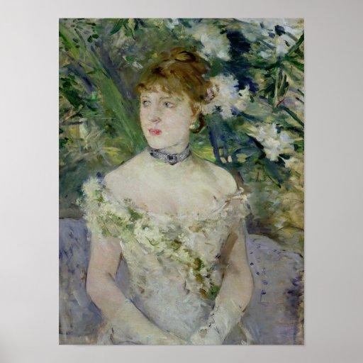 Jeune fille dans une robe de boule, 1879 posters