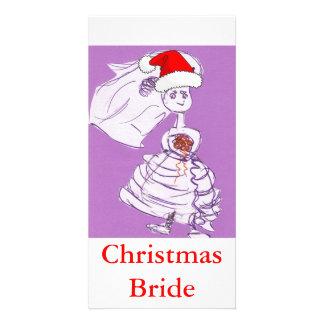 Jeune mariée de Noël