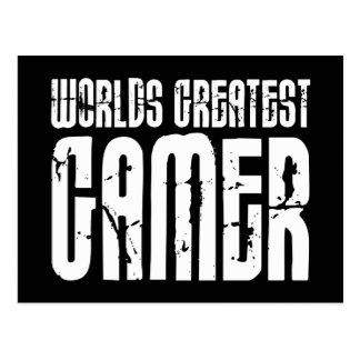 Jeux vidéo jeu et Gamer des mondes de Gamers plus  Carte Postale