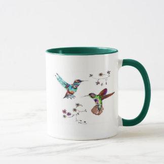 JEWELED KOLIBRI-Tassen Tasse