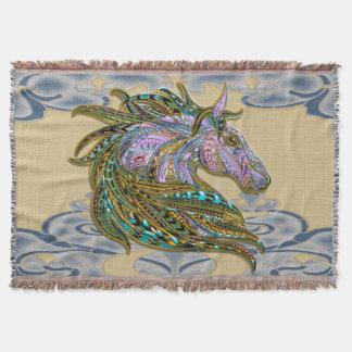 Jeweled Pferd, Wurfs-Decke Decke