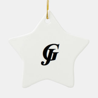 JG KERAMIK Stern-Ornament