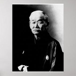 Jigoro Kano Plakat