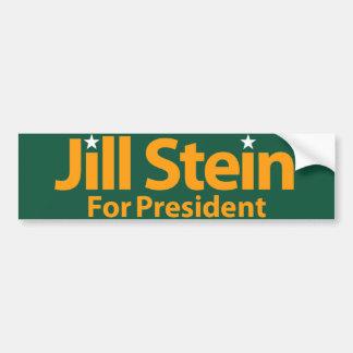 Jill Stein für Präsidenten Autoaufkleber