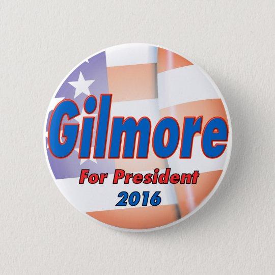 Jim Gilmore für Präsidenten im Jahre 2016 Runder Button 5,7 Cm
