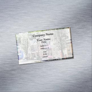 Jim Thorpe PA - wunderliche Straße Visitenkartenmagnet