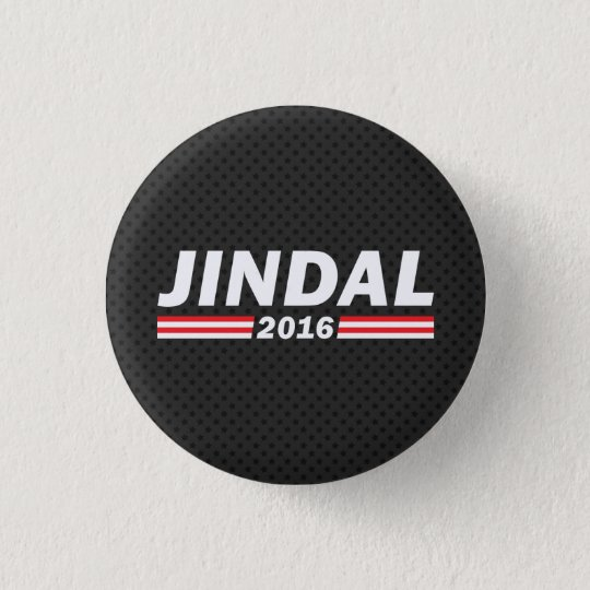 Jindal 2016 (Bobby Jindal) Runder Button 3,2 Cm
