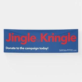 """""""Jingle für Kringle"""" 8' x 2,5' Fahne Banner"""