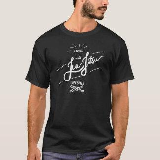 Jiu-JItsu-Lebensstil-Weiß T-Shirt