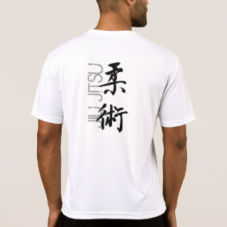 Jiu whiter Jitsu sport fitted T-Shirt