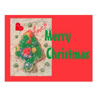 jjhélène Weihnachtsbaum-kundenspezifische Postkarte