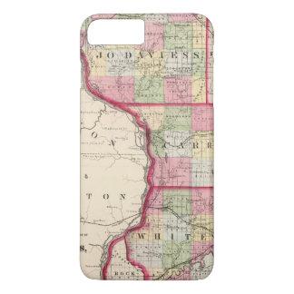 Jo Daviess, Carroll, Whiteside Landkreise iPhone 8 Plus/7 Plus Hülle