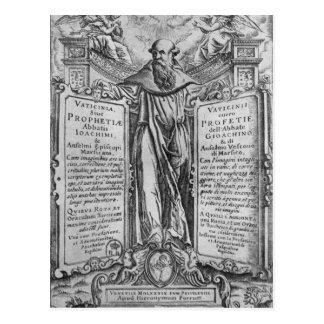 Joachim der Flora Postkarte