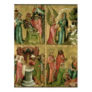 Joachim Opfer, die Beschneidung von Postkarte