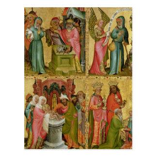 Joachim Opfer und Beschneidung von Christus Postkarte