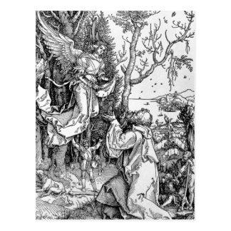 Joachim und der Engel Postkarte