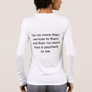 Job-T-Stück Langarm T-Shirt