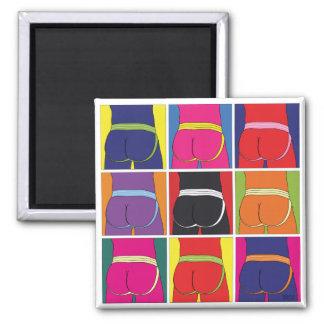 Jockstrap-Wunsch neun Quadratischer Magnet