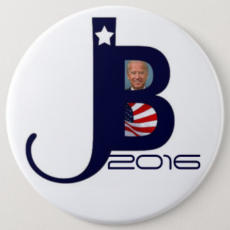 Joe Biden 2016 Runder Button 15,3 Cm