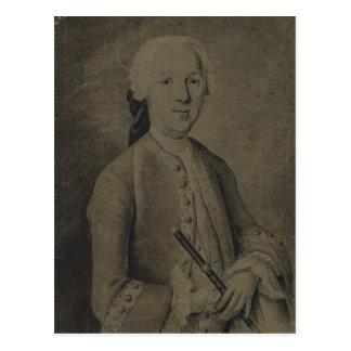 Johann Joachim Quantz Postkarte