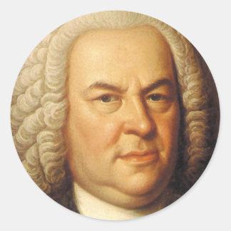 Johann Sebastian Bach-Einzelteile Runder Aufkleber - johann_sebastian_bach_einzelteile_aufkleber-r30eb0d04a8de4301a871d102ffed259c_v9waf_8byvr_324