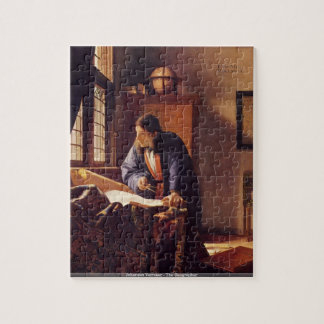 Johannes Vermeer - das Geographpuzzlespiel