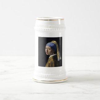 Johannes Vermeer - Mädchen mit einem Bierglas
