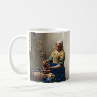 Johannes Vermeers der Milkmaid Kaffeetasse