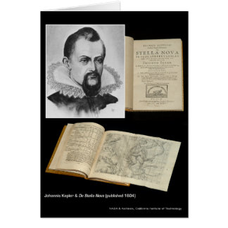 Johannis Kepler u. De Stella Nova (veröffentlicht Karte