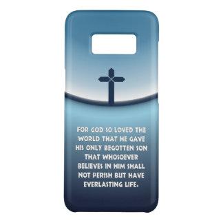 John-3:16 für Gott liebte so die christliche Welt Case-Mate Samsung Galaxy S8 Hülle