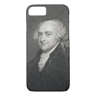 John Adams, graviert von James Barton Longacre iPhone 8/7 Hülle