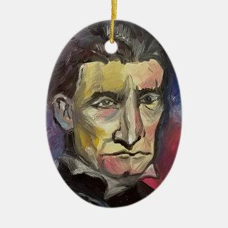 John Brown #Insta Keramik Ornament